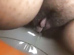 BBW Indian pissing