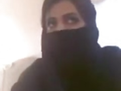Misbehaving Muslim Woman..