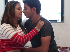 bhabhi romancing around devar
